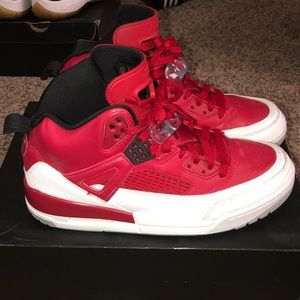 Jordan Spizike (Red, Black, White, Grey)